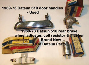 Datsun 510/ 240Z Parts - Whole whack of parts 1969-72+