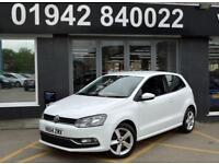 2014 64 VOLKSWAGEN POLO 1.2 SEL TSI DSG 3D AUTO 109 BHP 7SP SPORTY HATCH.WHITE