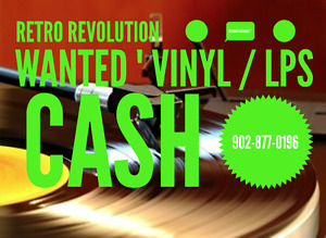 ☆ RETRO REVOLUTION RECORDS ☆ Vinyl Records ☆ LPs ☆ Wanted