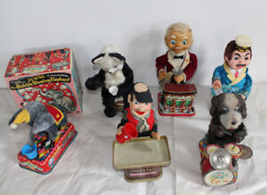Vintage Battery Operated Toys Japan Tin Toy