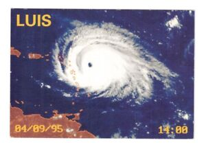 Carte postale : Ouragan LUIS les 4 et 5 setp. 1995 St.Maarten