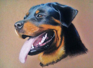 Pet Portraits Christmas Sale - 15% off between Dec 1st - 25th