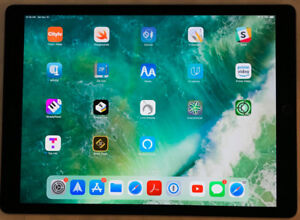"iPad Pro 12.9"" 128G Gen 1 with pencil and back-lit keyboard/case"