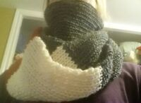 Sock Style Infinity Scarf