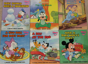 2 Lots of 6 Disney Baby - A Book About.....Series London Ontario image 1