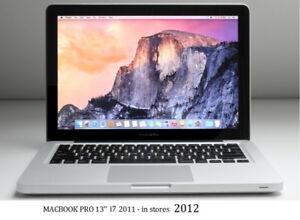 MACBOOK PRO 13 with McOffice Pro, Final Cut ,Logic Pro,from 459$