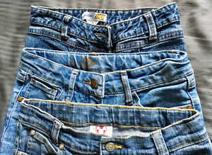 GIRLS Size 8 to 12 BRAND NAME JEANS - New/As New