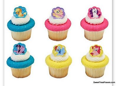 My Little Pony CupCake Cake Topper 12 18 24 Favors Decoration Birthday Horse Kid