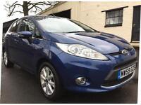 2010 Ford Fiesta 1.4TDCi Zetec 5 Door Met Ocean Blue **ONE OWNER, FSH, £20 TAX**