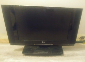 "28"" LG T.V WITH BUILT IN DVD"
