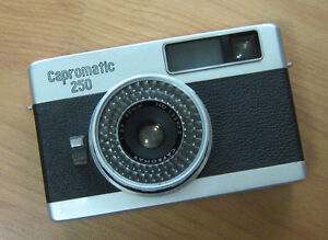Vintage Capromatic film camera