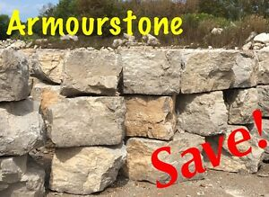 DELIVERED! ArmourSTONE_Save! Landscape ROCK_Quarry' Belleville Belleville Area image 1