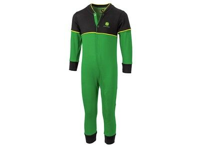 John Deere Baby Romper Suit 'Overall Style' Available in 0-12 Months MCL20183401