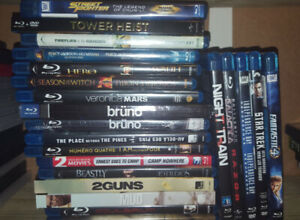 Blu-Ray Collection Clearance - $2.00 each