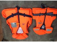 Two size life jackets bought last year