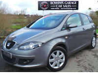 2008 SEAT ALTEA 1.9TDI STYLANCE 5DR - 1 LOCAL LADY - FULL SEAT S/HISTORY