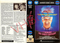 VHS L HOMME AUX DEUX CERVEAUX....STEVE MARTIN