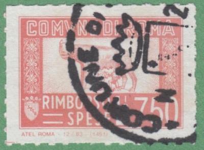 Italy Roma Rome Municipal Revenue Koeppel  149 Used 750L Atel Roma Cv  30