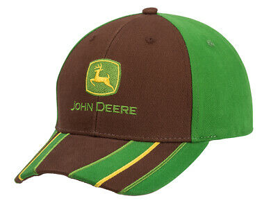 John Deere Cap Montana Basecap Mütze Baseball Kappe Herren Baseballcap Grün  ()