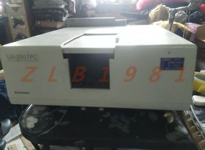 One Shimadzu Uv-2501pc