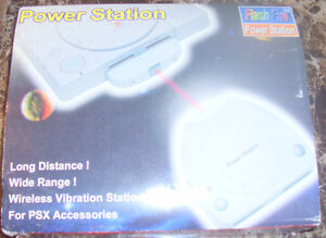RETRO POWER STATION WIRELESS ADAPTER FOR PS1 W/ ORIG BOX