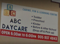 Registration Now open ...... ABC Daycare in Saint Catharines