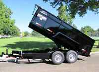 $75 PER DAY DUMP TRAILER FOR RENT