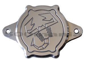 Tappo-carter-aria-filettato-per-termostato-Fiat-500-F-L-R-126-logo-Abarth