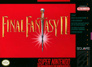 Looking for Final Fantasy 2 SNES CIB Complete