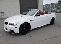 BMW M3 2012 CONVERTIBLE 29,000 KM GARANTIE CHEZ BMW