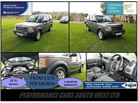 Land Rover Discovery 3 2.7 TDV6 5dr (5 Seat) £7,995 2 KEYS, 69K,6 MONTH WARRANTY