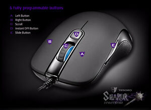 Tesoro Sharur gaming mouse, new in a box