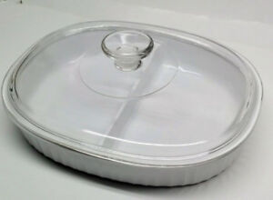 Corningware Divided Dish & Lid