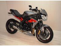 2013 TRIUMPH STREET TRIPLE R ABS, EXCELLENT CONDITION, £5,900, FLEXIBLE FINANCE