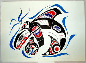 Killer Whale by Richard Shorty Campbell River Comox Valley Area image 1
