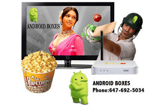 Jadoo 4 South Asian HD Quad Core Android TV box-Latest Model
