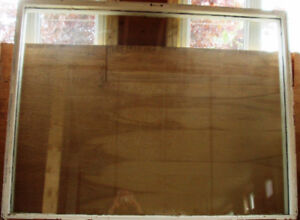 Large Thermopane picture window glass