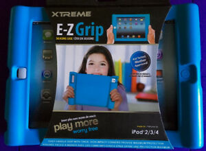 XTREME EZ-GRIP PROTECTIVE SILICON CASE for iPad 2, 3 & 4 - New