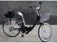 NEW ELECTRIC BIKE FOR WOMAN, black.Now ONLY 499 GBP+SHIPPING.Speedy delivery.