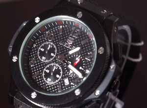 Brand New Mans Military Stealth Chronograph Watch