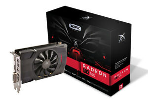 XFX rx460 2gb graphics card