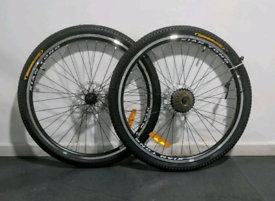 "Wanted mountionbike 26""disk break wheels"