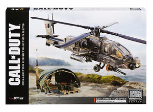 Mega Bloks Call of Duty Anti-Armor Helicopter Collector Construc