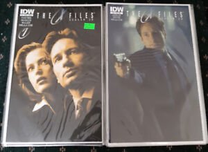 X-Files Comic Books (IDW Series)