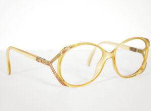 Christian Dior 1970s Women's Optyl Designer Eyeglasses Frames