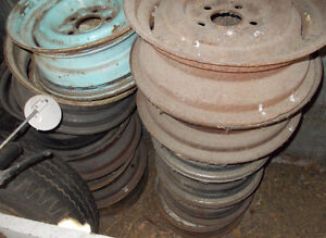 VARIOUS WHEELS AND RIMS FROM 50'S TO 70'S Strathcona County Edmonton Area image 4