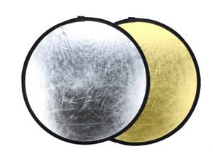 2.5 ft Photo reflector( gold and silver) Cobourg Ontario