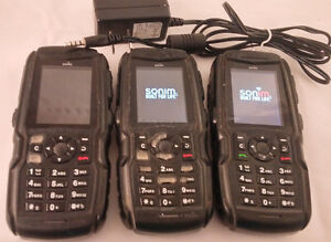 3 LOT! Sonim XP1300 Core Handset Cell Phone Rogers IP68 RUGGED