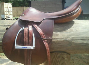 English saddle needed by donation for disabled rider