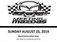 Meeting of Mazdas 2019 @ Boyd Conservation Area